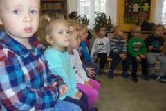 Pierwsza Wizyta Przedszkolaków w Bibliotece